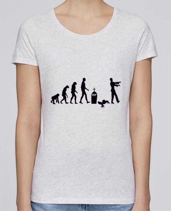 T-shirt Femme Stella Loves Zombie évolution par Benichan