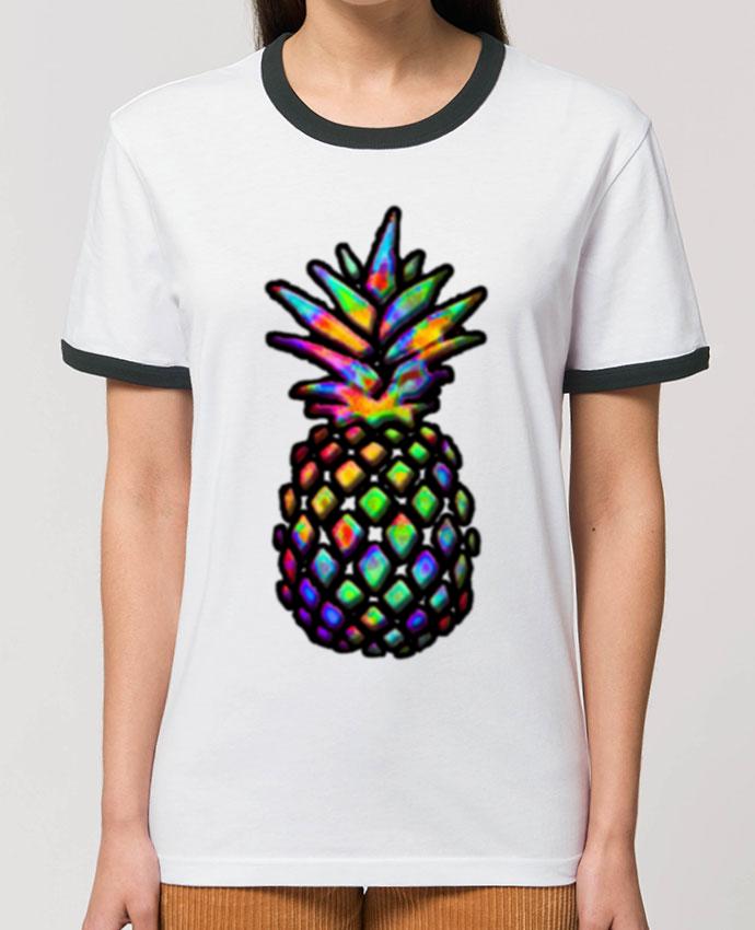 T-Shirt Contrasté Unisexe Stanley RINGER Colornanas parNotForIA