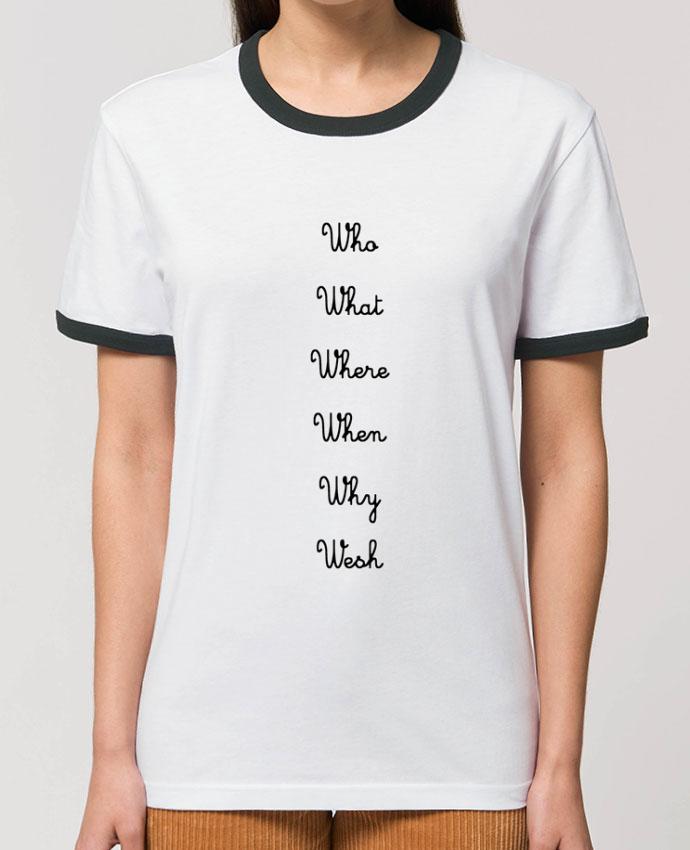 T-Shirt Contrasté Unisexe Stanley RINGER 5W partattooanshort
