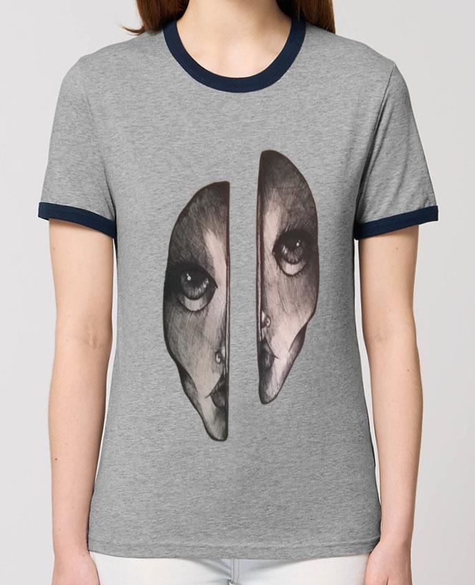 T-Shirt Contrasté Unisexe Stanley RINGER Headache parOhHelloGuys!
