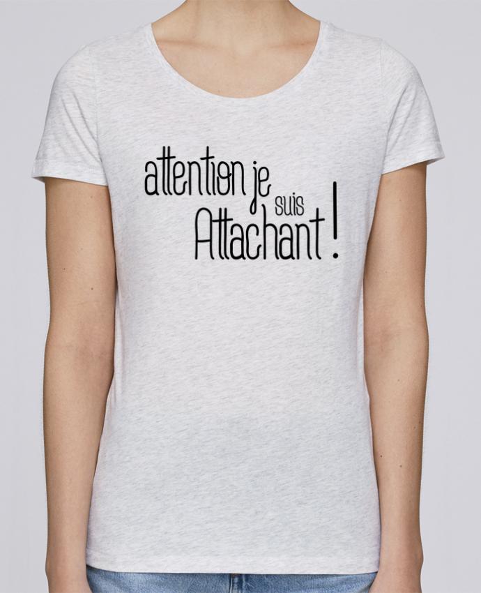 T-shirt Femme Stella Loves Attention je suis attachant ! par tunetoo