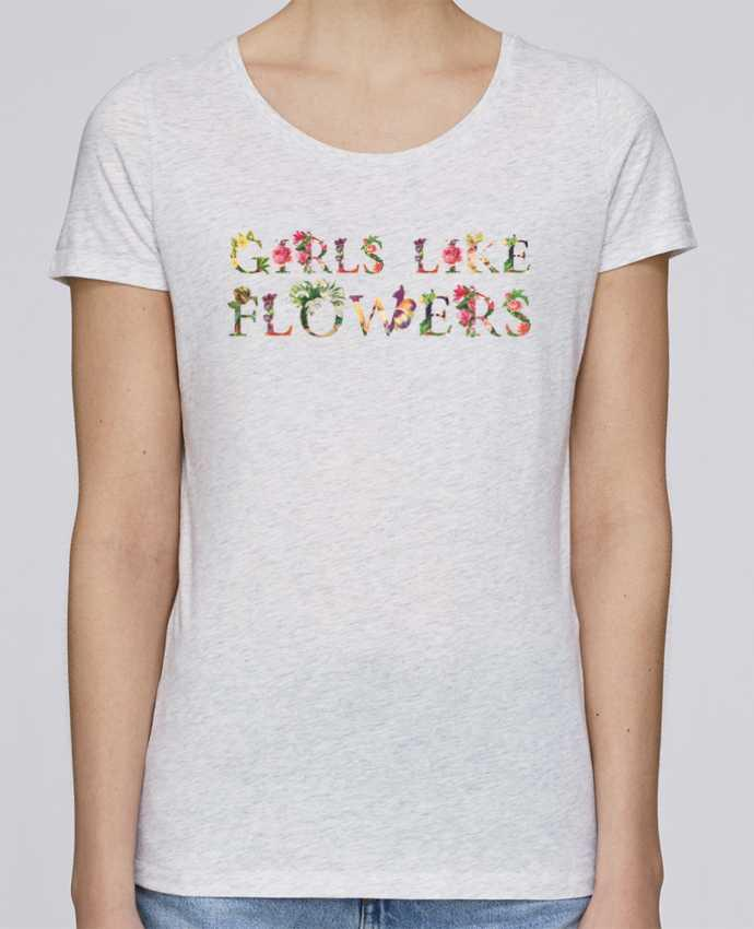 T-shirt Femme Stella Loves Girls like flowers par tunetoo