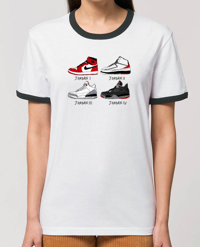 T-Shirt Contrasté Unisexe Stanley RINGER Best of Jordan parNick cocozza