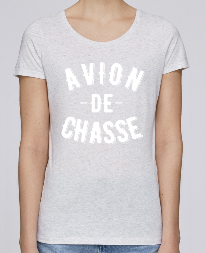 T-shirt Femme Stella Loves Avion de chasse par tunetoo