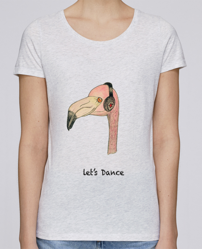 T-shirt Femme Stella Loves Flamingo LET'S DANCE by La Paloma par La Paloma