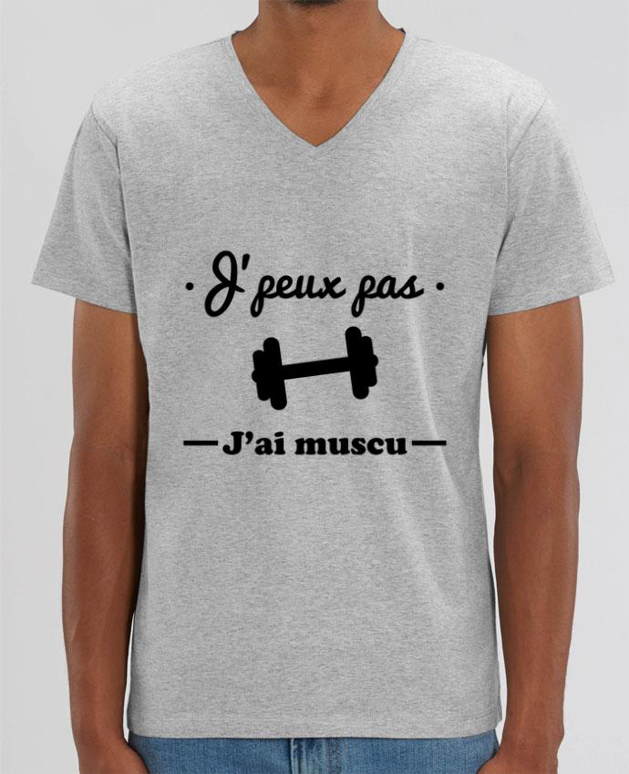 T-shirt homme J'peux pas j'ai muscu, musculation par Benichan