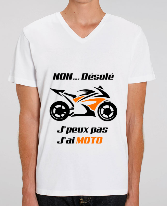 T-shirt homme J'peux pas j'ai moto par MotorWave's