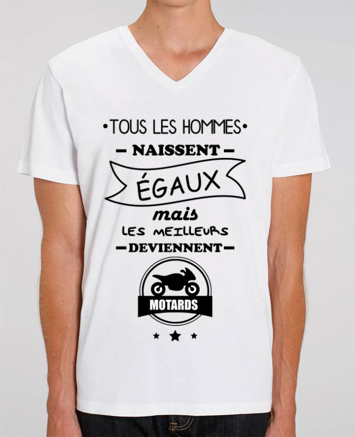 T-shirt homme Tous les hommes ... les meilleurs deviennent motard, moto par Benichan