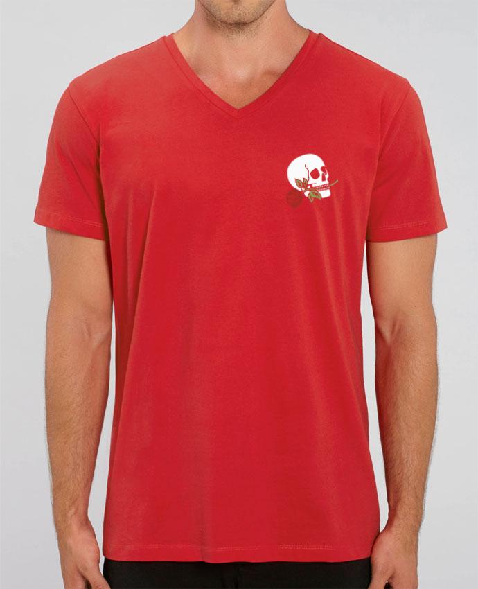 T-shirt homme Skull flower par Ruuud