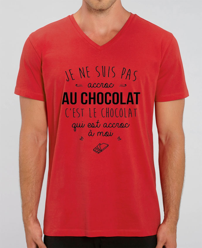 T-shirt homme choco addict par DesignMe