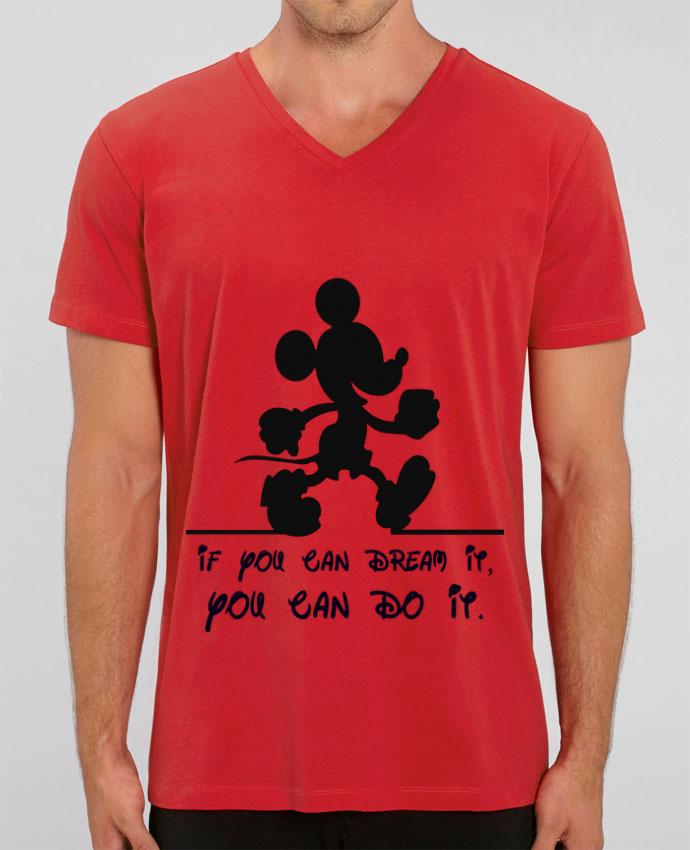 T-shirt homme MICKEY DREAM par La Taverne Du Geek