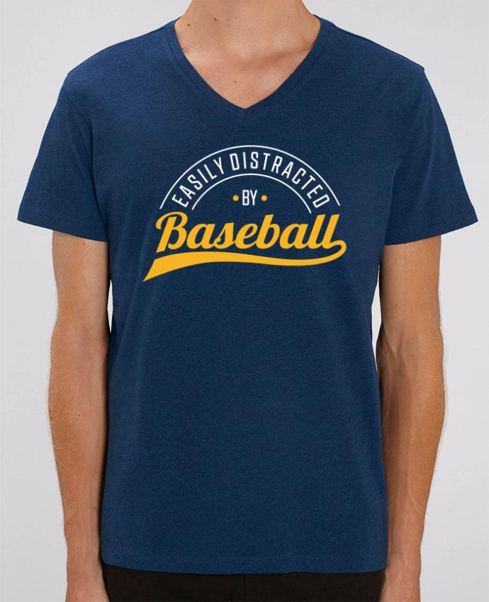 T-shirt homme Distracted by Baseball par Original t-shirt