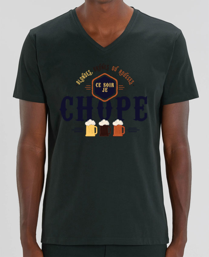 T-shirt homme CE SOIR JE CHOPE par PTIT MYTHO