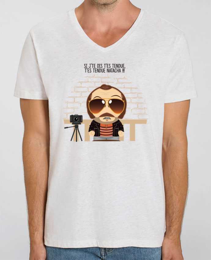 T-shirt homme T'es tendue Natacha par PTIT MYTHO