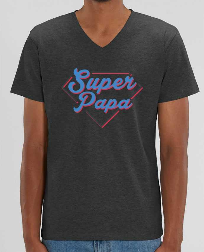 T-shirt homme Super papa par tunetoo