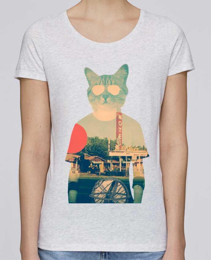 T-shirt Femme Stella Loves Cool cat par ali_gulec