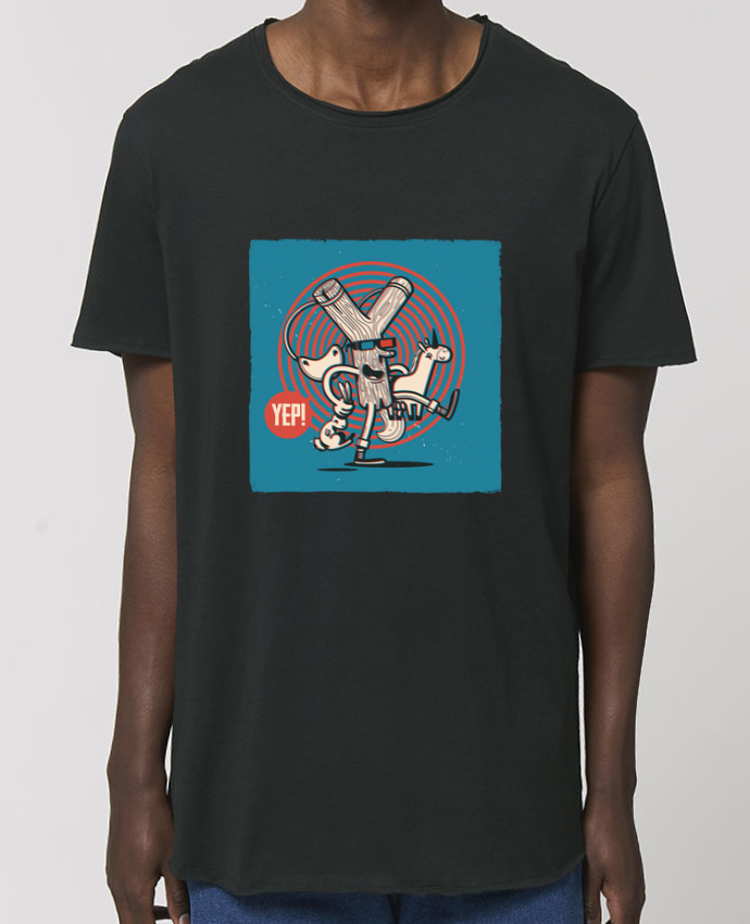 Tee-shirt Homme YEP! Lance Pierre 3D Par  YEP!