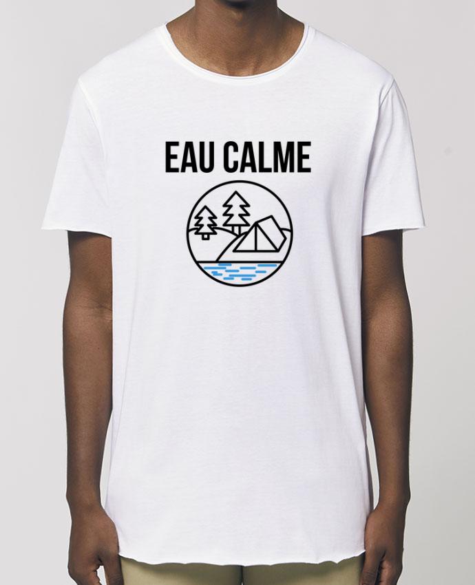 Tee-shirt Homme eau calme Par  Ruuud