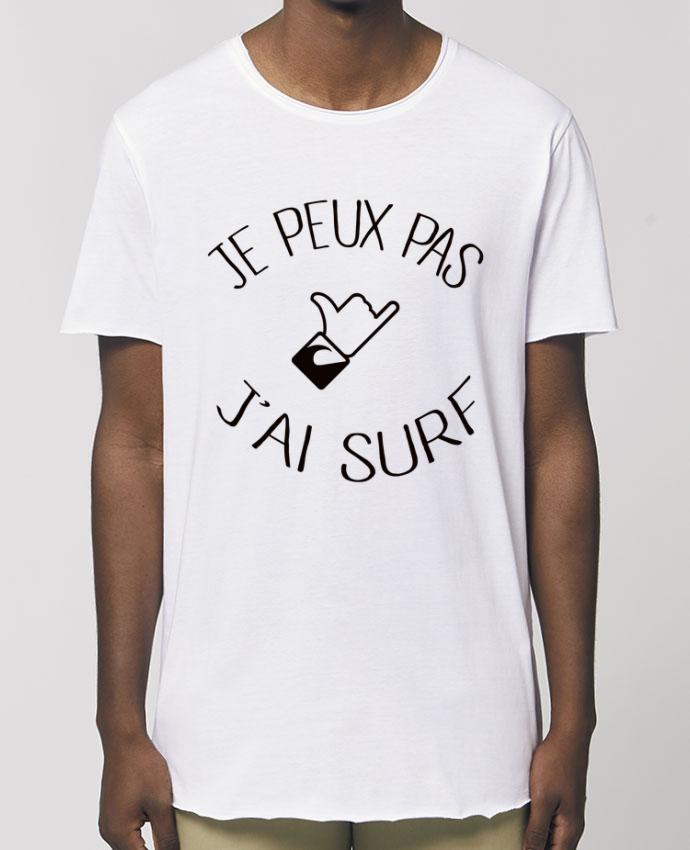 Tee-shirt Homme Je peux pas j'ai surf Par  Freeyourshirt.com
