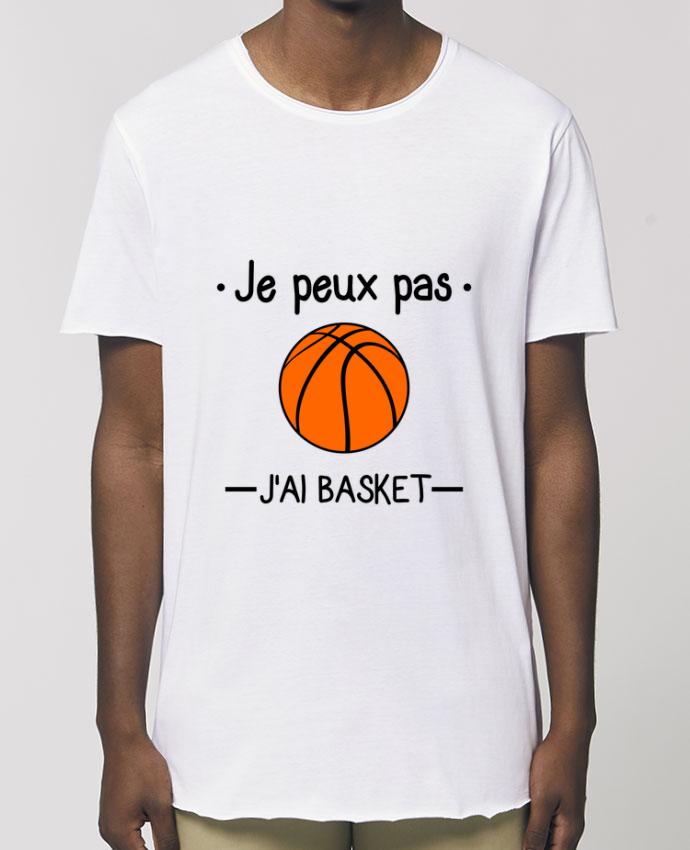 Tee-shirt Homme Je peux pas j'ai basket,basketball,basket-ball Par  Benichan