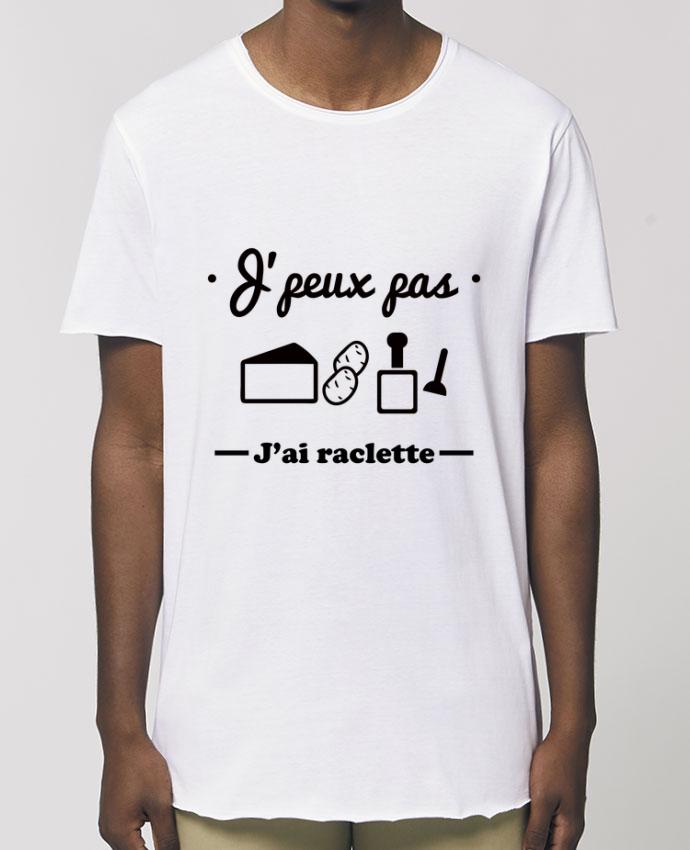 Tee-shirt Homme J'peux pas j'ai raclette Par  Benichan