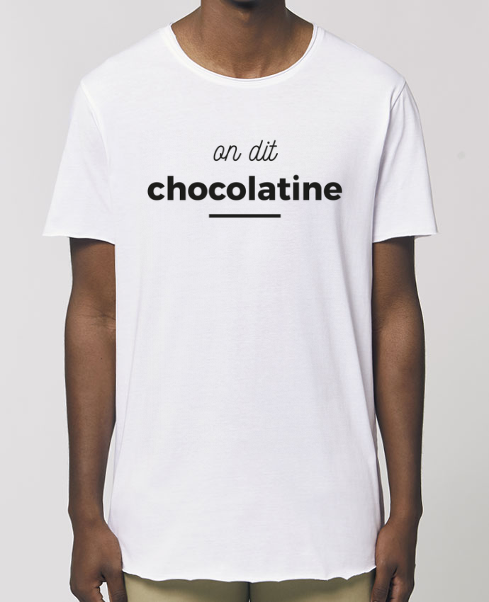 Tee-shirt Homme On dit chocolatine Par  Ruuud
