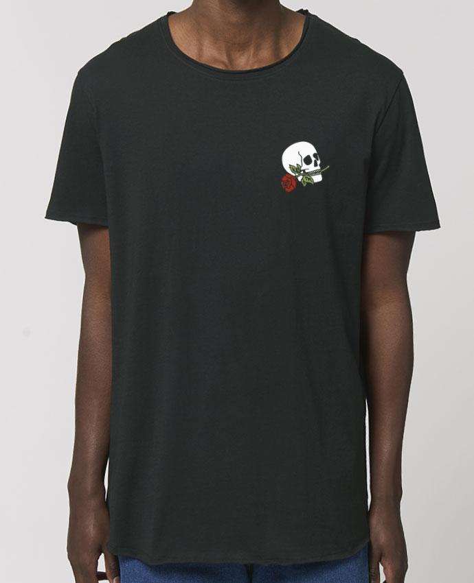 Tee-shirt Homme Skull flower Par  Ruuud