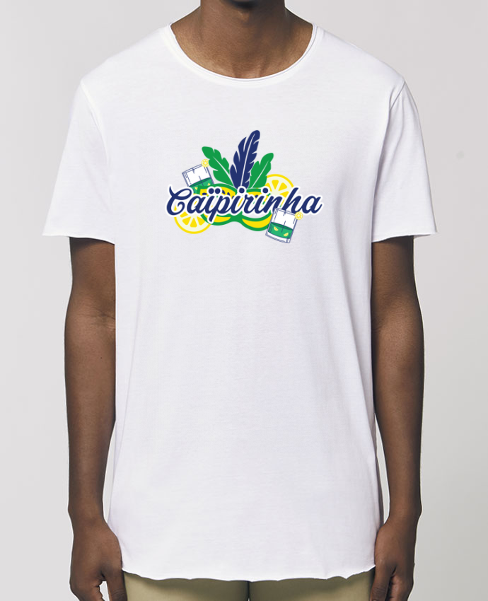 T-Shirt Long - Stanley SKATER Caïpirinha Cocktail Summer Par  tunetoo