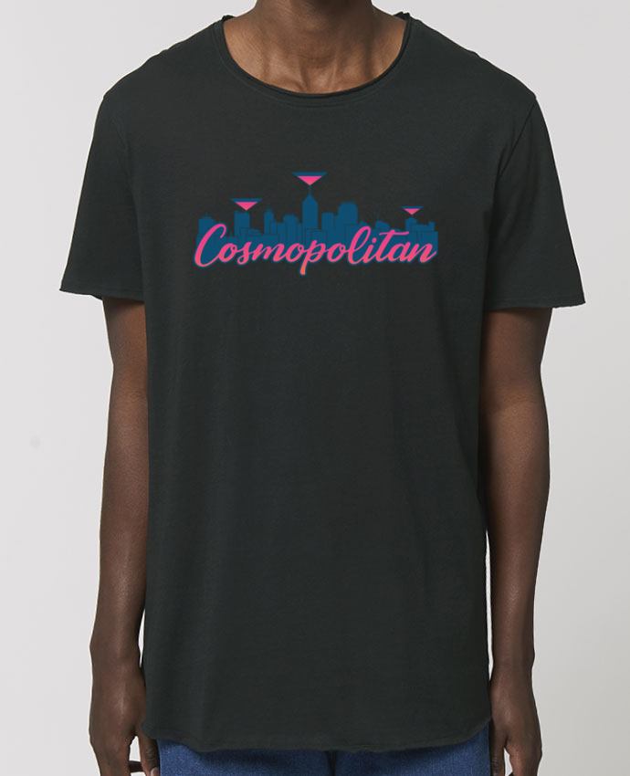 T-Shirt Long - Stanley SKATER Cosmopolitan Cocktail Summer Par  tunetoo