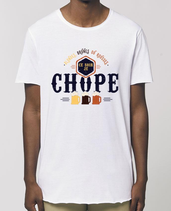 Tee-shirt Homme CE SOIR JE CHOPE Par  PTIT MYTHO
