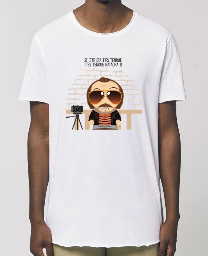 Tee-shirt Homme T'es tendue Natacha Par  PTIT MYTHO