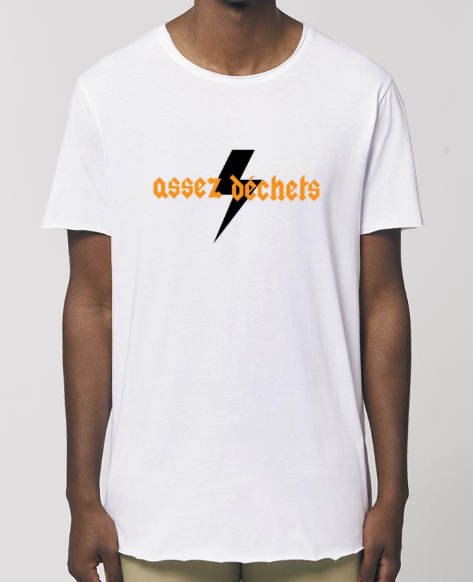 Tee-shirt Homme Assez déchets Par  tunetoo