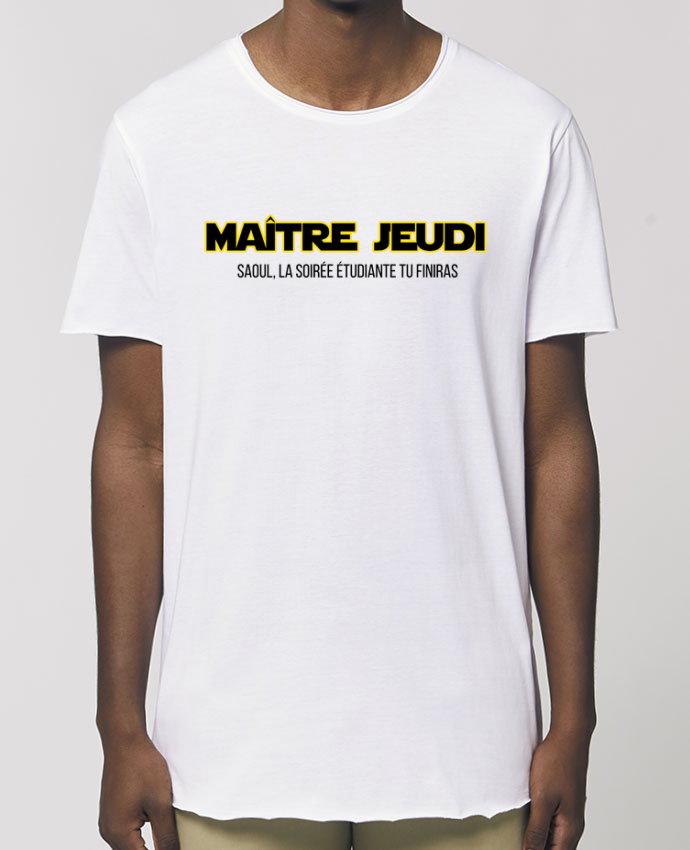 Tee-shirt Homme Maître jeudi Par  tunetoo