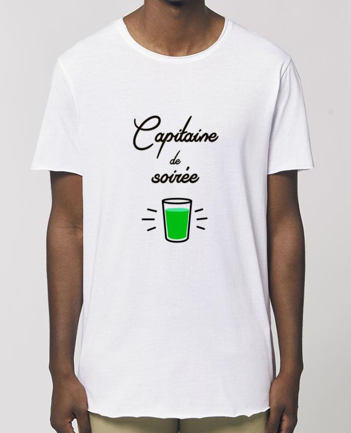 Tee-shirt Homme Capitaine de soirée Par  Lamouchenoire