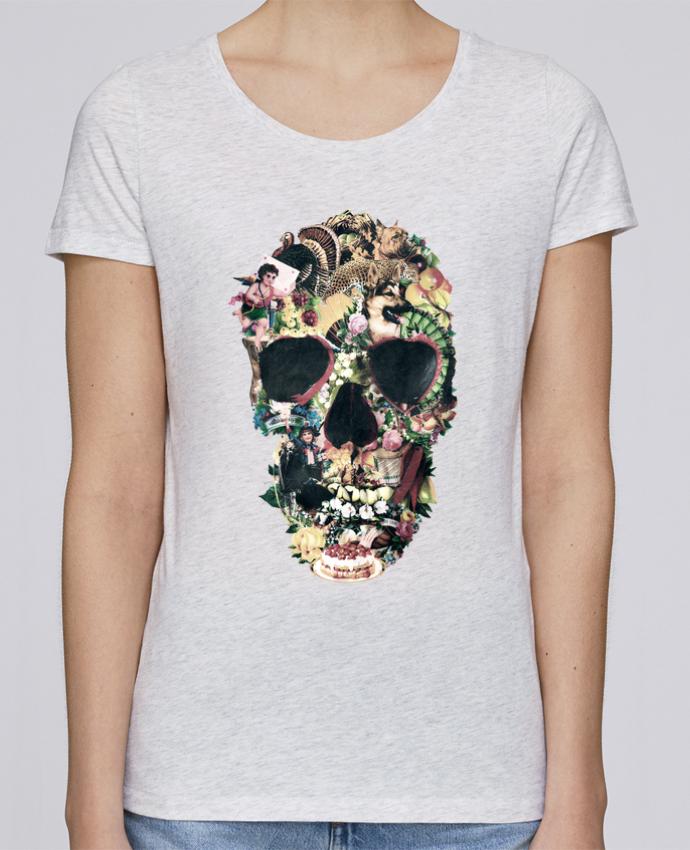 T-shirt Femme Stella Loves Vintage Skull par ali_gulec