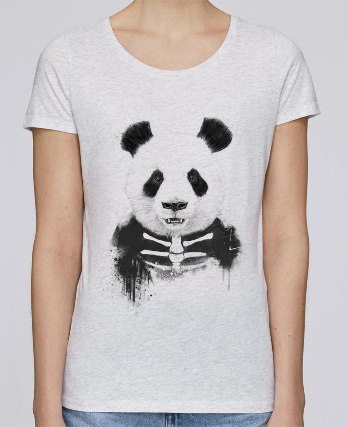 T-shirt Femme Stella Loves Zombie Panda par Balàzs Solti
