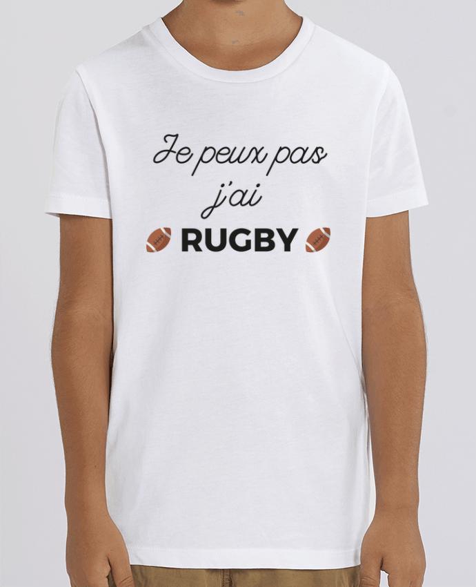 T-shirt Enfant Je peux pas j'ai Rugby Par Ruuud