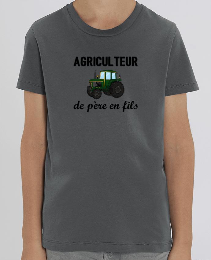 T-shirt Enfant Agriculteur de père en fils Par tunetoo