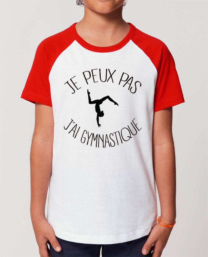 Tee-shirt Enfant Je peux pas j'ai gymnastique Par Freeyourshirt.com