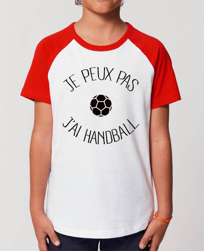 Tee-shirt Enfant Je peux pas j'ai Handball Par Freeyourshirt.com