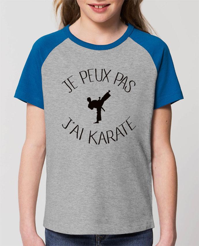 Tee-shirt Enfant Je peux pas j'ai karaté Par Freeyourshirt.com