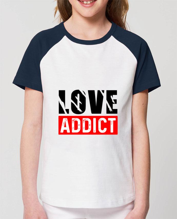 Tee-shirt Enfant Love Addict Par Sole Tshirt
