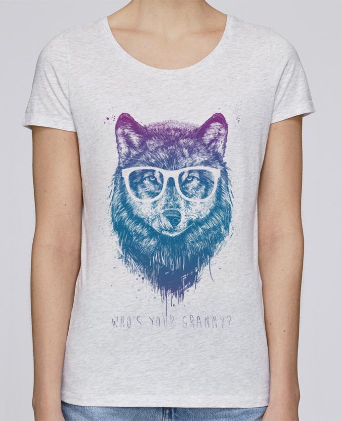 T-shirt Femme Stella Loves whos_your_granny par Balàzs Solti