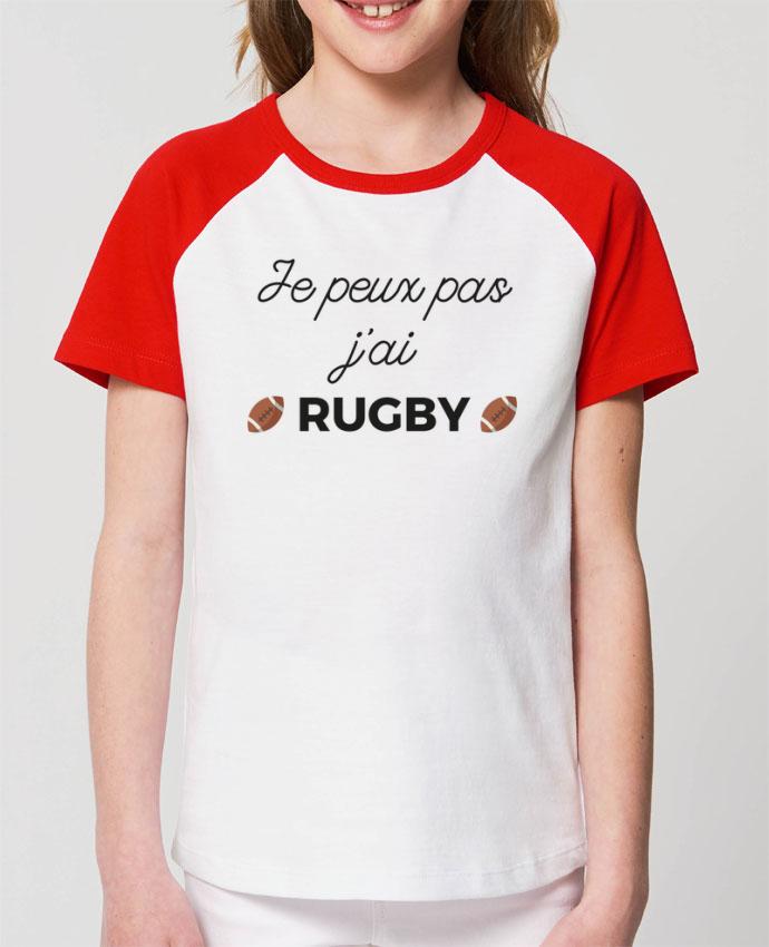 Tee-shirt Enfant Je peux pas j'ai Rugby Par Ruuud