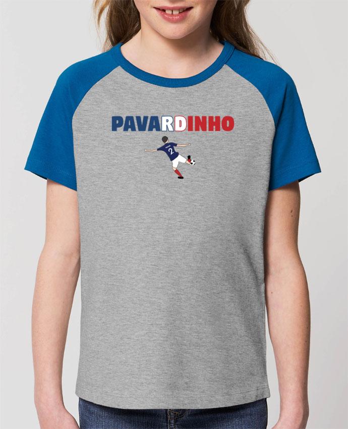 T-shirt Baseball Enfant- Coton - STANLEY MINI CATCHER PAVARD - PAVARDINHO Par tunetoo