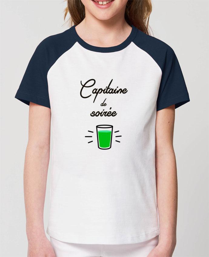 Tee-shirt Enfant Capitaine de soirée Par Lamouchenoire