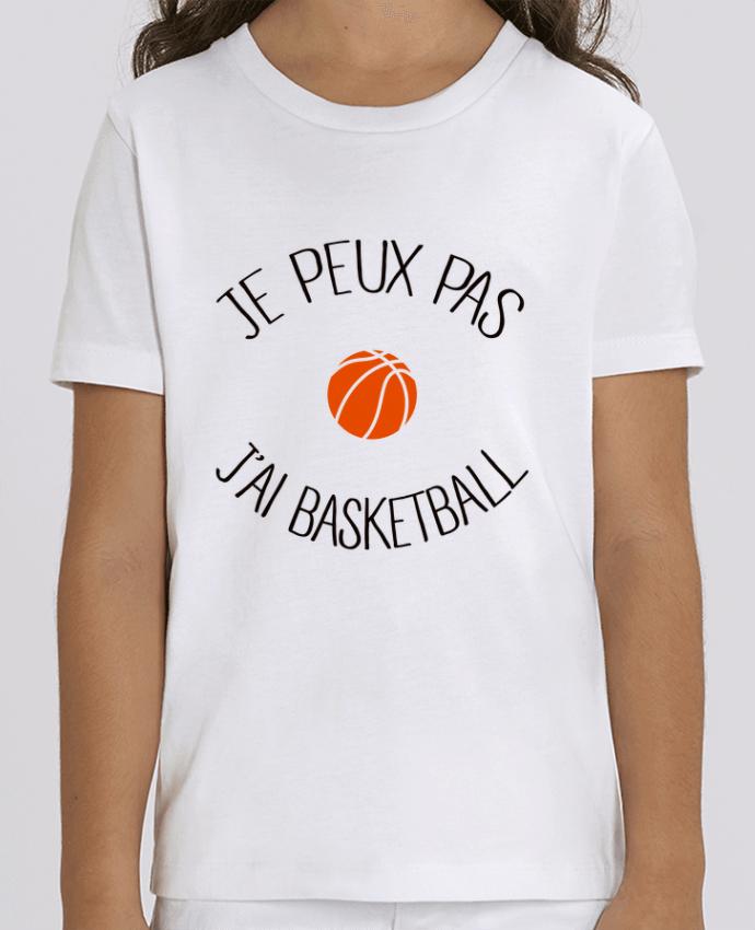 T-shirt Enfant je peux pas j'ai Basketball Par Freeyourshirt.com