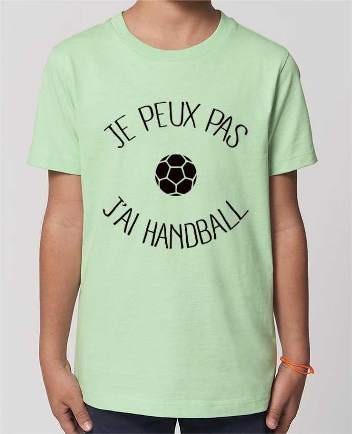 T-shirt Enfant Je peux pas j'ai Handball Par Freeyourshirt.com