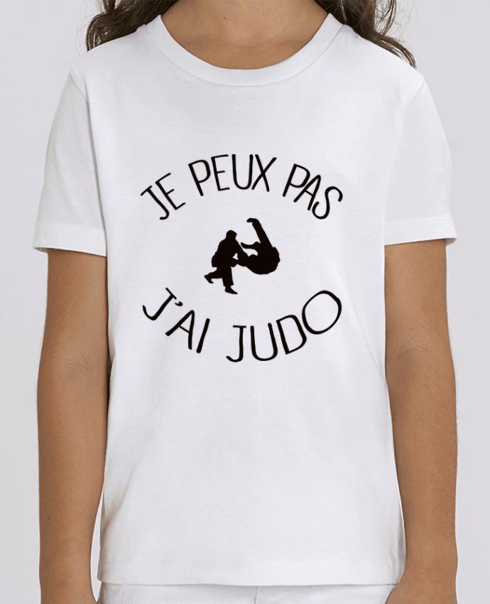 T-shirt Enfant Je peux pas j'ai Judo Par Freeyourshirt.com
