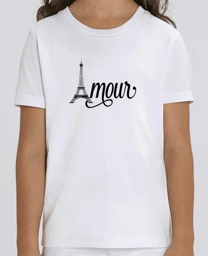 T-shirt Enfant Amour Tour Eiffel - Paris Par justsayin